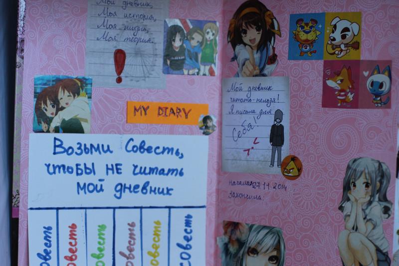 Как оформить личный дневник для девочек внутри и снаружи