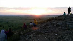 аркаим, рассвет, гора Любви
